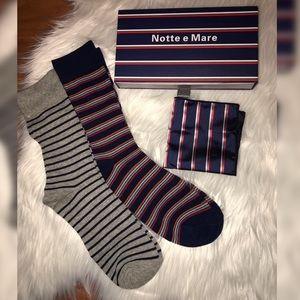 Men's Sock & Handkerchief Set